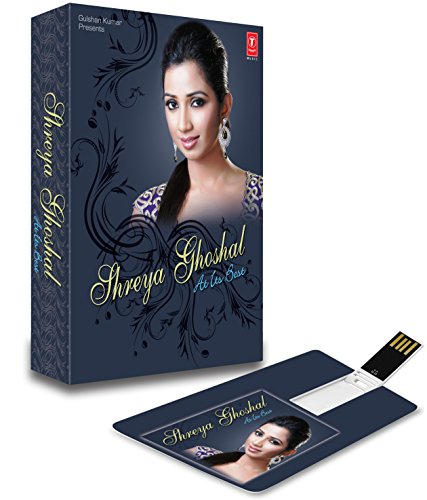 Price comparison product image MUSIC CARD- SHREYA GHOSHAL AT ITS BEST