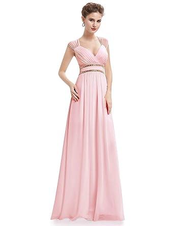 d1ac5153f93 Ever-Pretty Col V Robe de Soirée Longue Élégante Femme 08697  Amazon.fr   Vêtements et accessoires