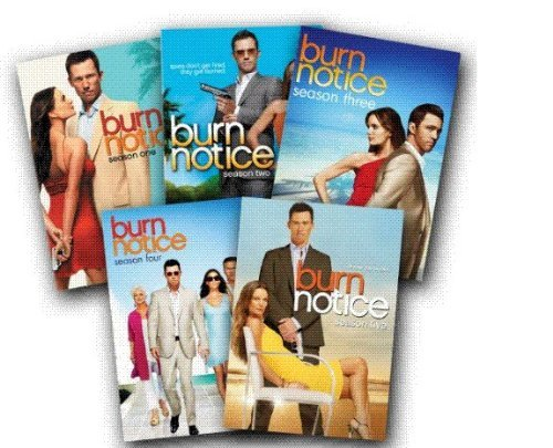 Burn Notice: Seasons 1-5 -  DVD