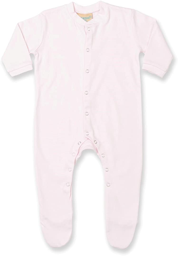 Larkwood Babies Cotton Sleepsuit