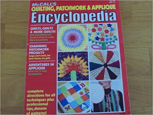 Mccall s quilting patchwork applique encyclopedia unknown