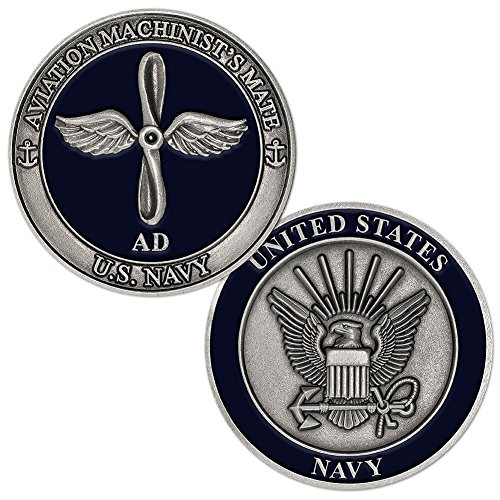 U.S. Navy Aviation Machinists Mate Challenge Coin