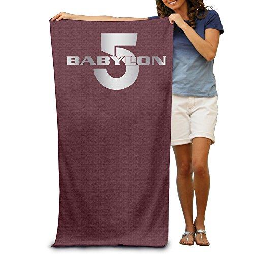 "Babylon 5 1994 Logo Platinum Style 31.5""51"" Beach Towel"
