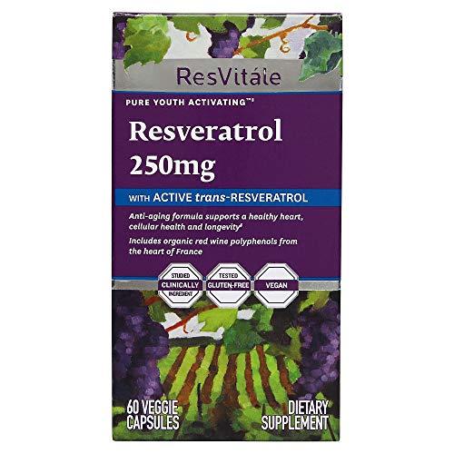 Gnc Resvitale Resveratrol 250 Mg 60 Capsules Buy Online In