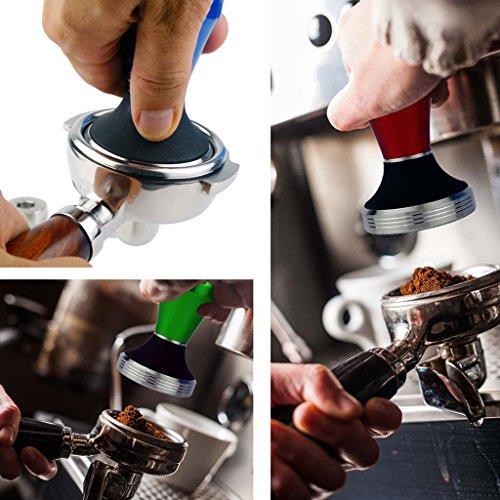 Jili Online Aluminium Alloy Monster Coffee Tamper Barista Espresso Powder Bean Tool 58mm
