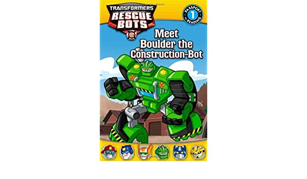 Transformers: Rescue Bots: Meet Boulder the Construction-Bot ...