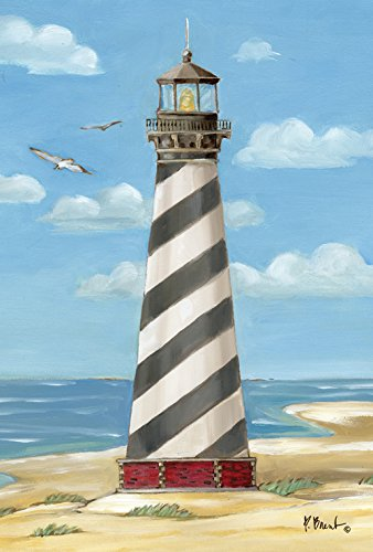 - Toland Home Garden Cape Hatteras Lighthouse 28 x 40 Inch Decorative Outer Banks North Carolina Beach House Flag
