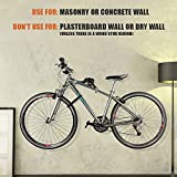 Ibera Horizontal Bicycle Bike Wall Hanger, Bike