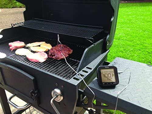 Oregon Bluetooth Grill-Thermometer Barbecue digital Grill Right Schwarz 12x12x5