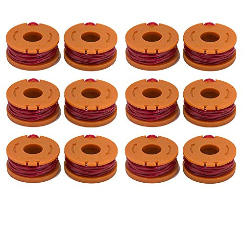 LBK 12-Pack Replacement 10-Foot Grass Trimmer/Edger Spool Li