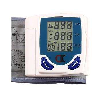 AYQ Tensiometro Brazo Medical, Monitor Digital De PresióN Arterial Digital. Monitor De PresióN Arterial