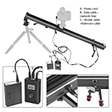 ASHANKS SL3 Electric Control Motorized Camera Slider Stabilizer for Canon DSLR Camera TimeLapse Video Shooting