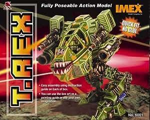 T-REX Robogear Model Kit Easy Assembly