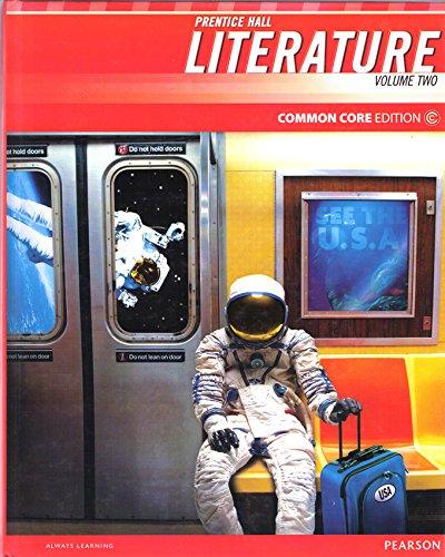 Prentice Hall Literature Common Core Edition, Grade 8 Volume 2