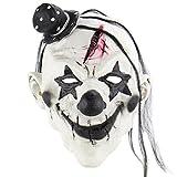 Horror Halloween Demon Joker Scary Devil Clown Latex Mask Costume Party Decorations