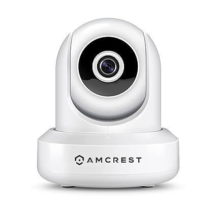 Amcrest ProHD IPM-721W, Cámara IP de Seguridad WiFi Inalámbrica marca de 720P con Paneo/Inclinación, ...