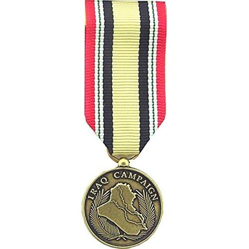 MilitaryBest Iraq Campaign Medal - Mini