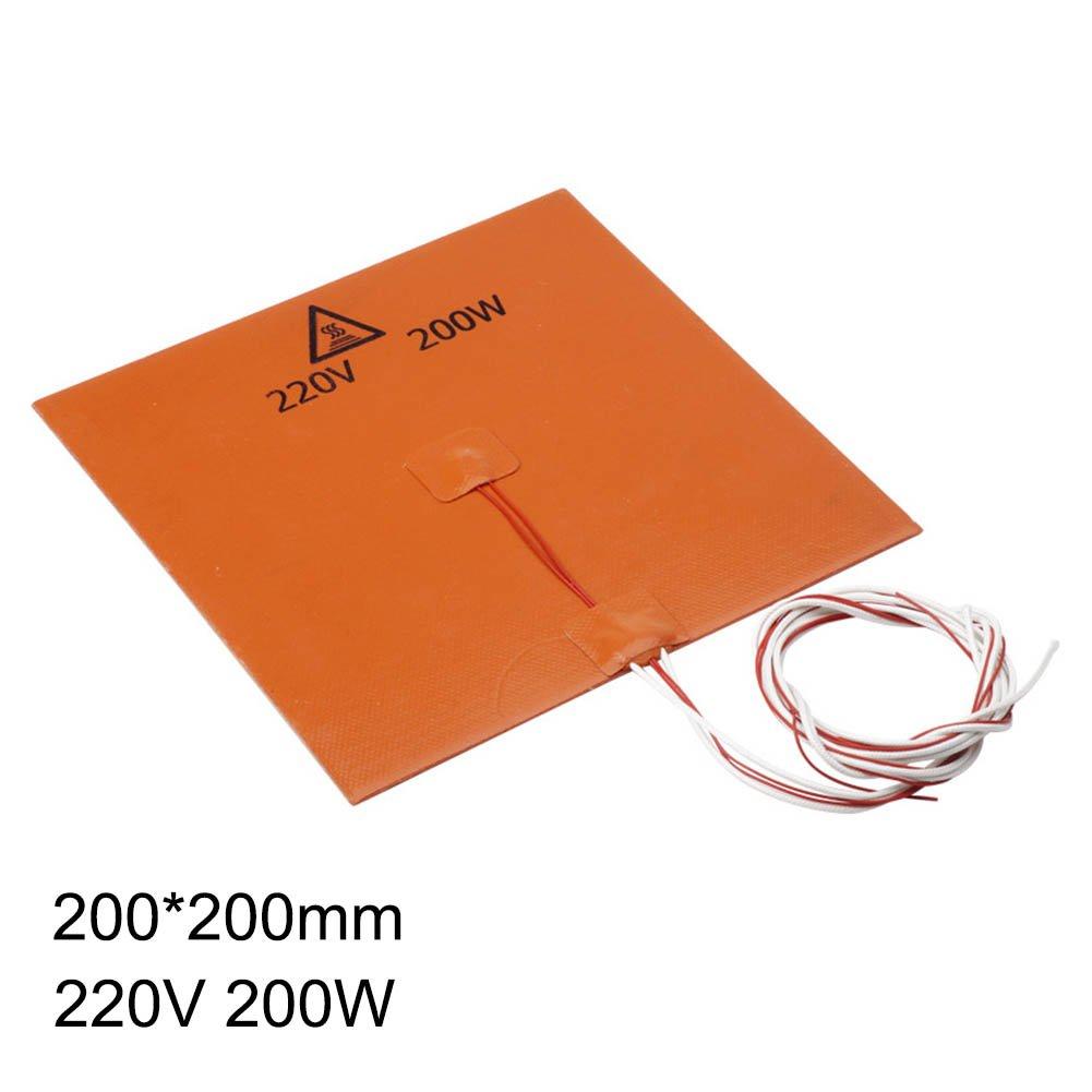Majome Heatbed 200/600/750W 220V con el Calentador del Silicón de ...