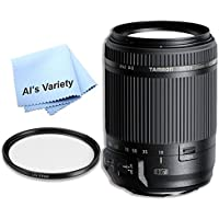 Tamron 18-200mm f/3.5-6.3 DI II VC Lens Kit for Canon EF (B018) - International Version (No Warranty)