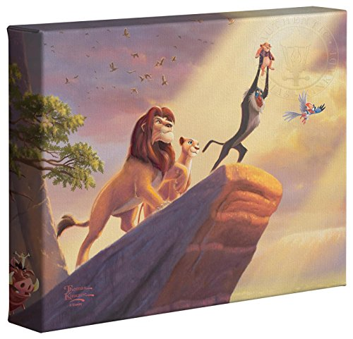 The Lion King - Thomas Kinkade Disney 8