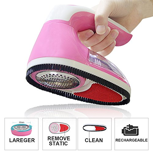Price comparison product image Fabric Shaver Lint Remover Lint Shaver Rechargeable Electric Fabric Shaver,  Pilling Remover for Clothing Sweaters,  Coats,  Gloves,  Scarfs,  Blankets,  Gloves and More