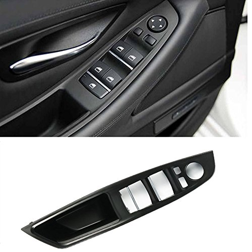 Window Switch Armrest Panel, For BMW 5 Series Trim Grab Cover Armrest (Driver Side) Front Left Door Bracket (Fits:520 523 525 528 530 535 2010-2016)
