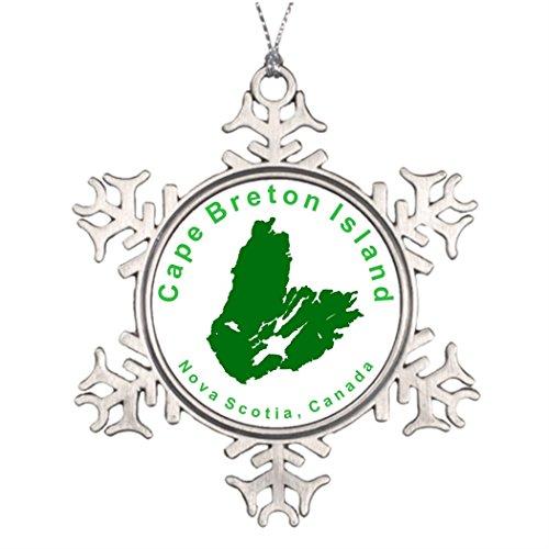7th Gener Tree Branch Decoration CB CIrcular Christmas In Heaven Snowflake Ornament Canada (Branch Circular Christmas Tree)