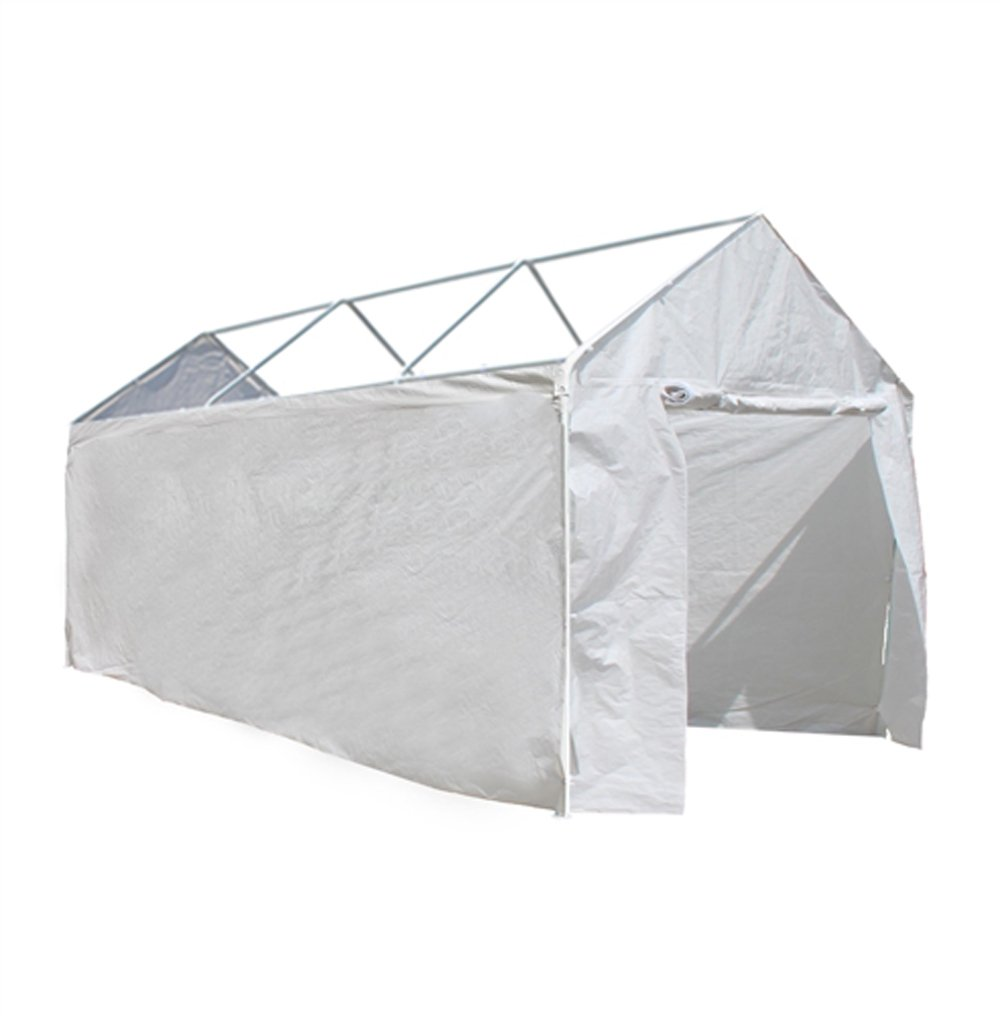 ALEKO CP1020N Weather Resistant Polyethylene Caravan Party Tent Sidewalls 10 x 20 Foot White