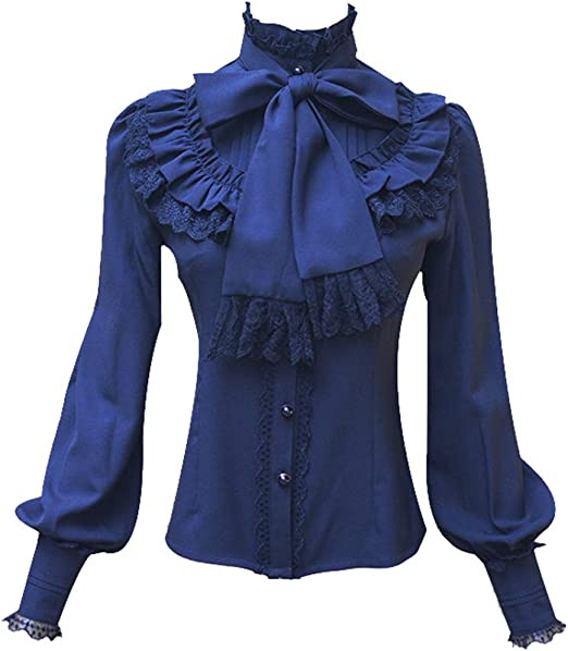 Camisa vintage victoriana