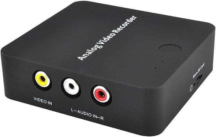 Conversor coaxial HDMI a RF para TV antigua, adaptador convertidor HDMI en salida coaxial con mando a distancia, adaptador de transmisor de señal analógica RF con función de zoom y soporte de