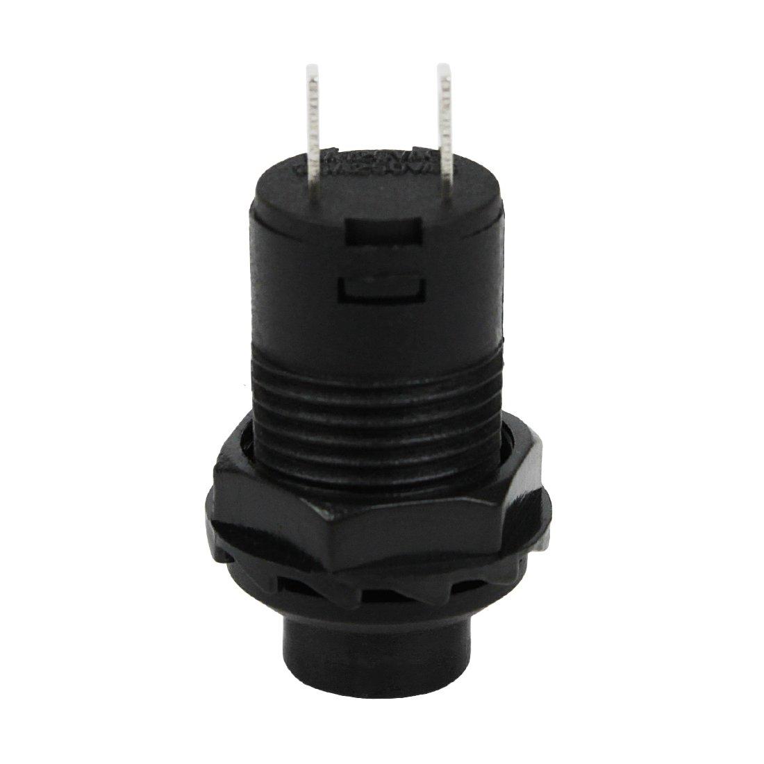 Larcele 20x 12mm Non-momentan/é Interrupteurs /à Bouton-Poussoir Bricolage en Plastique Commutateur ANKG-03 Jaune