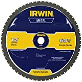 IRWIN Tools Metal-Cutting Circular Saw Blade, 12-inch, 60T - Best Reviews Guide