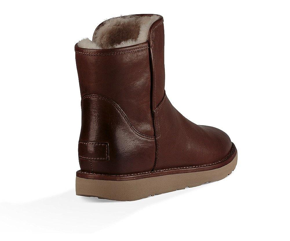 c85cc647c18 UGG Abree Mini Lux Classic Bruno Leather Boot Bruno 40EU/7UK: Amazon ...