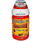Cheap Wellesse Premium Liquid Supplements, Vitamin D3, Natural Berry Flavor, 1000 IU, 16 fl oz (480 ml) – 2pc