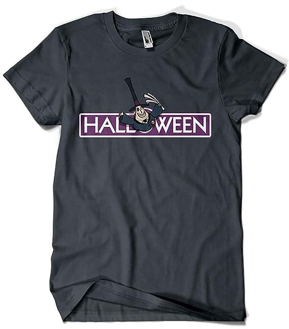 Camisetas La Colmena 6033-Halloween Town! (Raffiti): Amazon.es: Ropa y accesorios