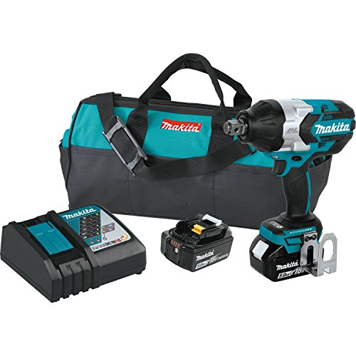 Makita XWT07T 5.0 Amp 18V LXT Lithium-Ion Brushless Cordless High Torque 3/4
