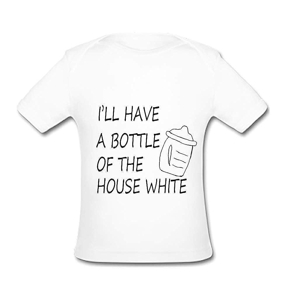 UlanLi Infant Tee Im Proof Nerds Get Laid Baby Organic Short Sleeve T-Shirt
