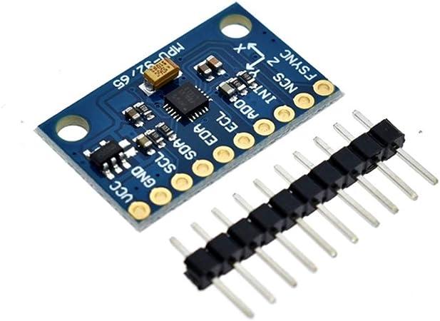 IIC I2C SPI MPU6500 MPU-6500 Modulo sensore accelerometro giroscopico a 6 assi Sostituire MPU6050 per Arduino con perni GY-6500