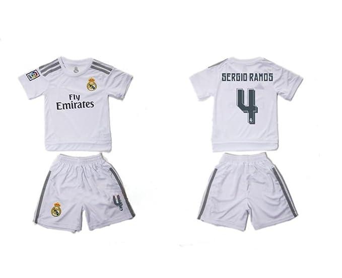 2016 Real Madrid CF personalizada Nombre y Número Home para ...