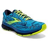 Brooks Women's Ghost 13 Running Shoe - Malibu Blue/Peacoat/Nightlife - 7.5