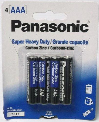 48 Pack Panasonic Super Heavy Duty AAA Batteries Retail Pack