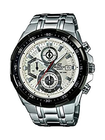 Casio Edifice Stopwatch Chronograph White Dial Men s Watch - EFR-539D-7AVUDF  (EX192 7e91680ee