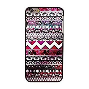 GJY Aztec Stripe Style Plastic Hard Back Cover for iPhone 6 Plus