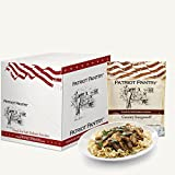 Patriot Pantry Creamy Stroganoff Case Pack (24 servings, 6 pk.) Bulk Emergency Storage Food Supply, Up to 25-Year Shelf Life