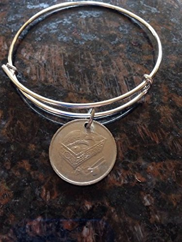 Malaysia 20 cents expandable style wire bangle bracelet 2nd ()