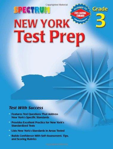 Spectrum New York Test Prep, Grade 3 (Spectrum State Specific)