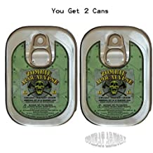 2 Pack Combo Zombie Apocalypse Survival Kit in a Sardine Can by Killer Sardine Company