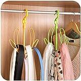 Inomata 3121 Plastic Multipurpose Drying Hanger (Multicolour)