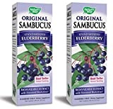 Nature's Way Sambucus Black Elderberry Original Syrup, 8 Ounce, 2 Pack Review