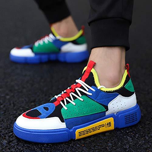 Flying Tissage en Sport Hommes Chaussures NANXIEHO Respirant Air Épais Loisirs Toile Bas Trend Chaussures Léger Plein 5pwdpAxq